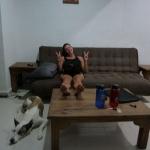 Zimmer mit Couch, what a luxus