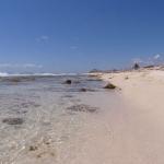 Strand von Puerto Morelios, glasklares Wasser